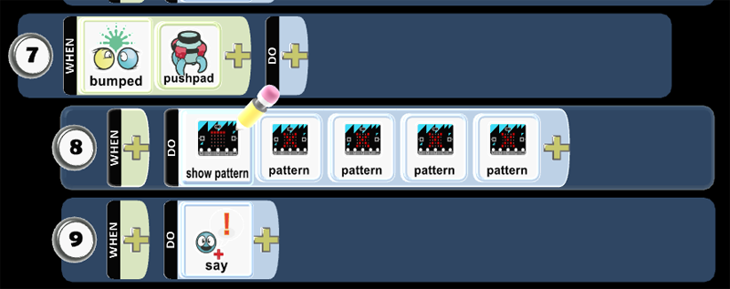 Show Pattern